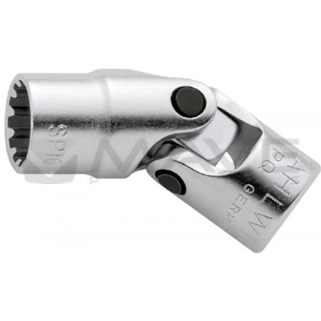 """01542016 Kloubová nástrčná hlavice Spline-Drive 402aSP 8 mm, 1/4 """""""