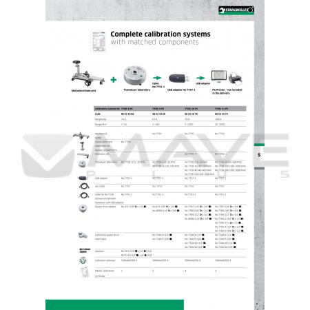 96521070 Kompletní kalibrační zařízení