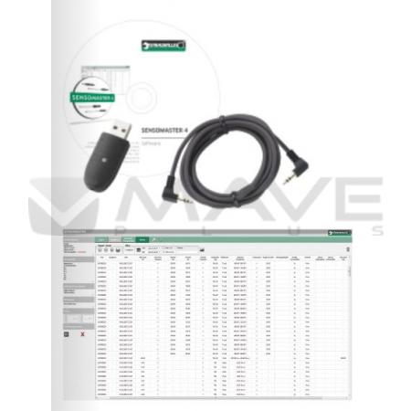 96583630 USB-Adaptér, kabel s Jack konektorem a SENSOMASTER 4 software