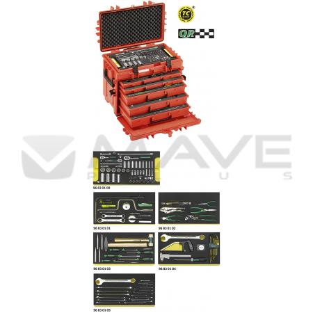 98814900 Sada Line Maintenance Set ve vozíku na nářadí č. 13217 13214 WT/LR