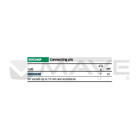 39025050 Spojovací kolík 6092IMP